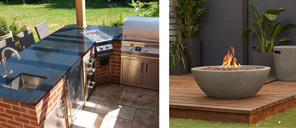 Fire-pits and Outdoor Kitchens